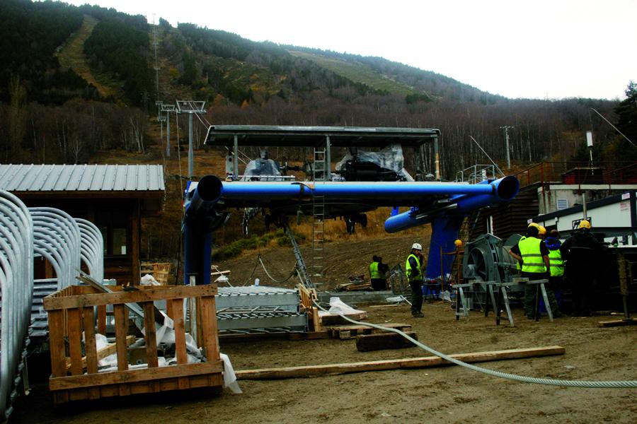 Port puymorens posar en marxa el telecadira el 20 de for Porte puymorens