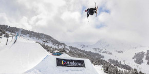 Imatges d'ahir al Grandvalira Total Fight freeski