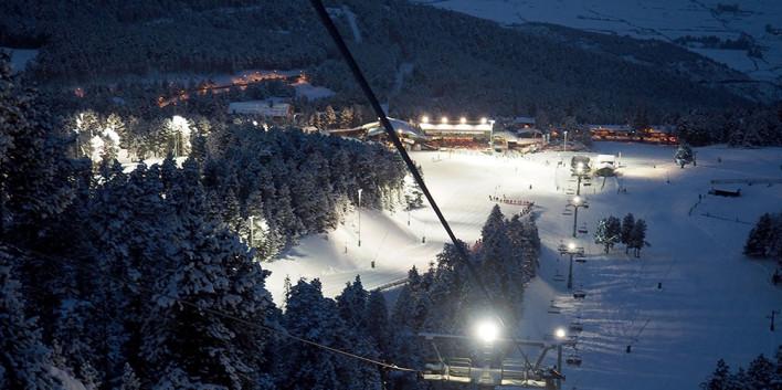 Masella,esqui,nocturn